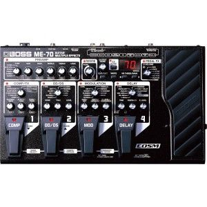 Boss ME-70 Guitar Multiple Effect Pedal