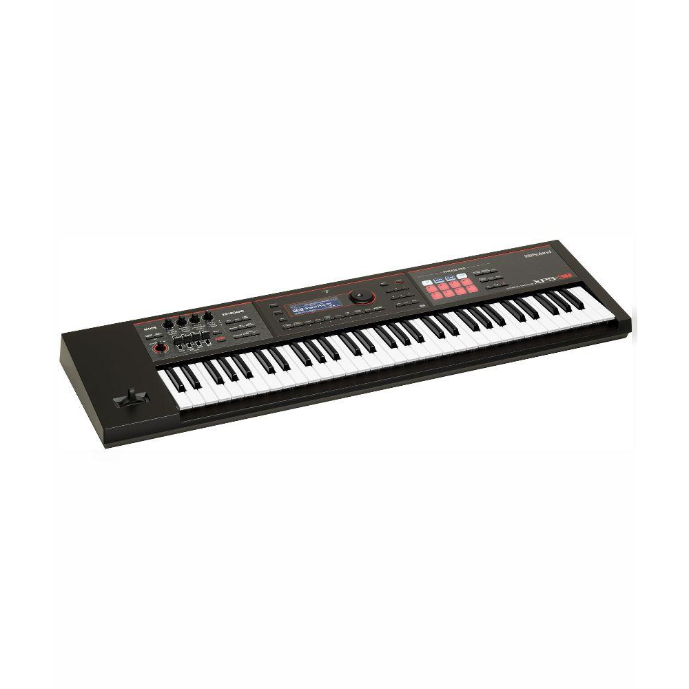 Roland XPS-30 Keyboard with Strange C28 and Cable
