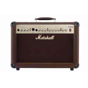 MARSHALL 50-WATTS ACOUSTIC SOLOIST GUITAR COMBO AMPLIFIER | AS-50D