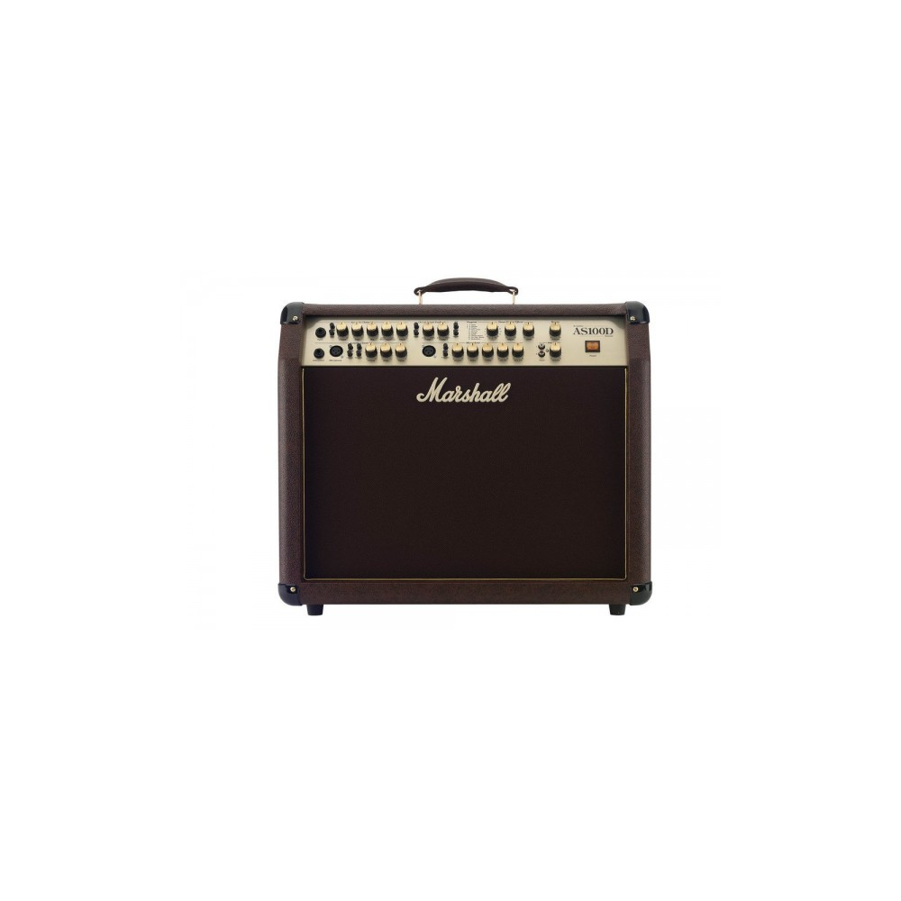 MARSHALL 100-WATTS ACOUSTIC SOLOIST GUITAR COMBO AMPLIFIER |AS-100D