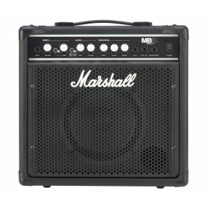 MARSHALL 15-WATTS BASS COMBO 2-CHANNEL| MB-15-E