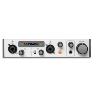 M-Audio M Track II 2 Channel Usb Audio Interface
