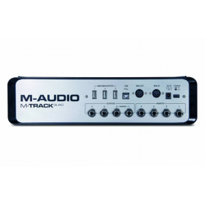 M-Audio M -Track Quad four Channel Audion Usb Interface