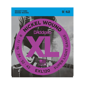 D'addario EXL120 Electric Guitar Strings