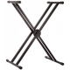Carlos Marshello MSKS012 Double X Keyboard Stand