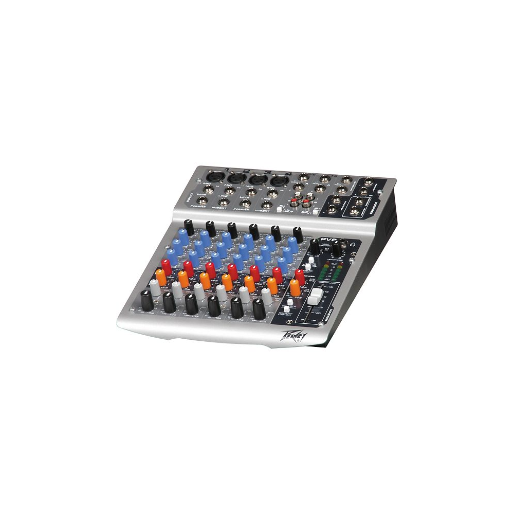 Peavey Pv8 Usb 6 Channel Mixer Best Buyreviewpriceindia Audio The Is A 8 Input With 4 Mic Inputs And 2 Stereo Line