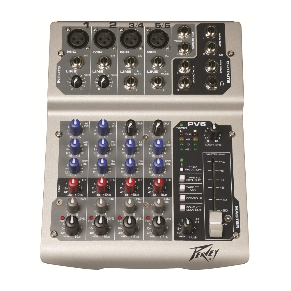 Peavey PV 6 Without USB