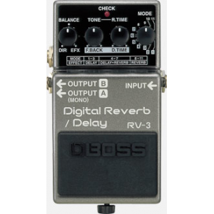 BOSS RV-3 DIGITAL REVERB/ DELAY PEDAL