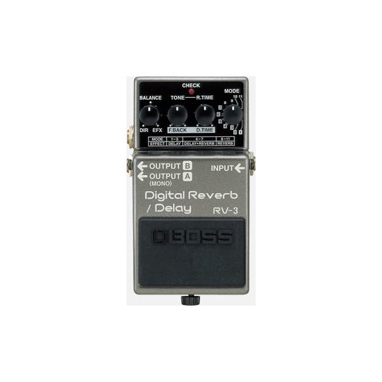 BOSS RV-3 DIGITAL REVERB/ DELAY PEDAL