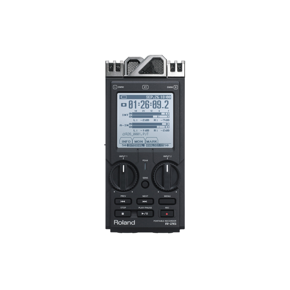 Boss R-26 Portable Recorder