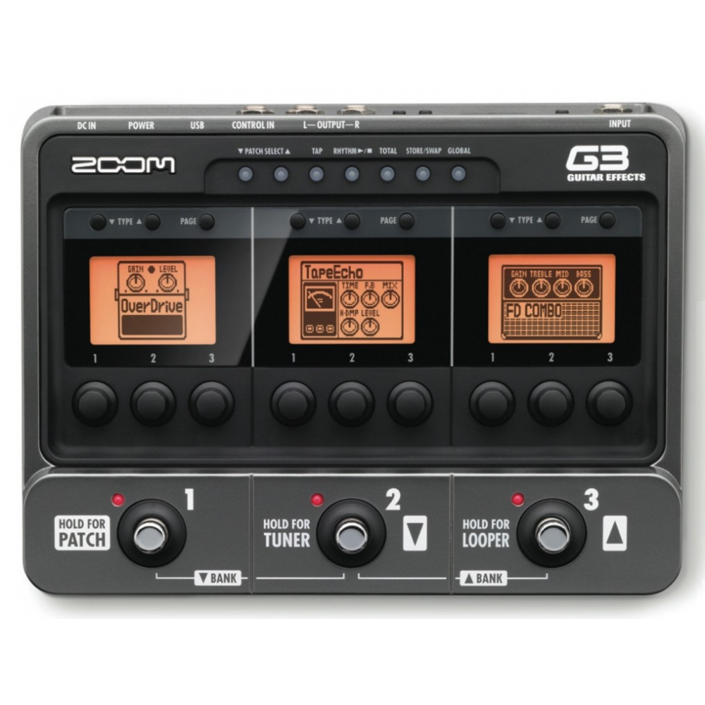 zoom g3 guitar pedal available on online at musics stores buy price. Black Bedroom Furniture Sets. Home Design Ideas