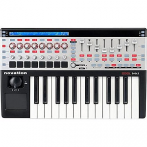 Novation 25 SL MKII Remote USB Midi Controller Keyboard