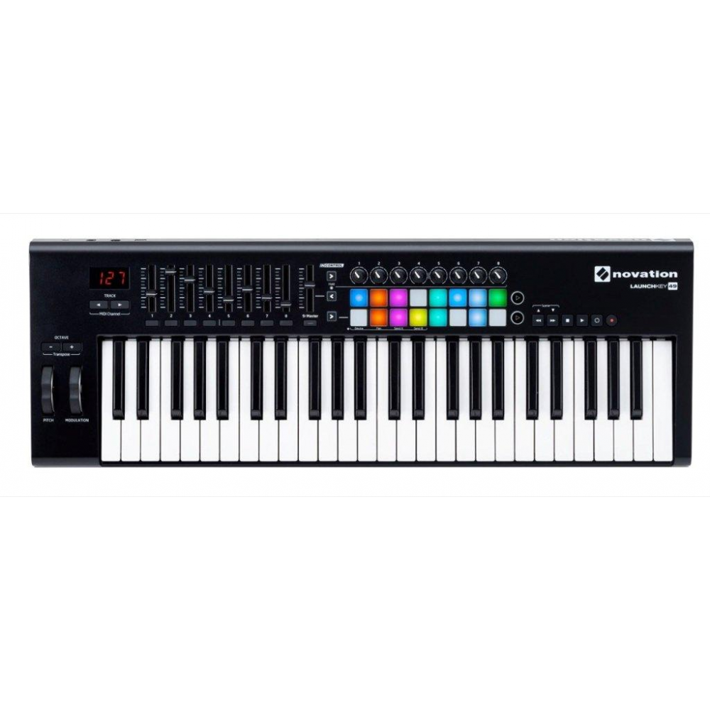 Novation Launchkey 49 MKII USB Keyboard Controller
