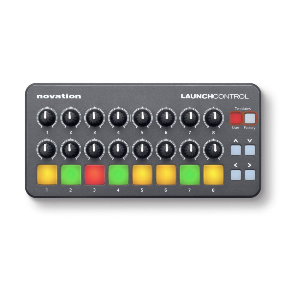 buy novation launch control portable usb midi controller on music stores online. Black Bedroom Furniture Sets. Home Design Ideas
