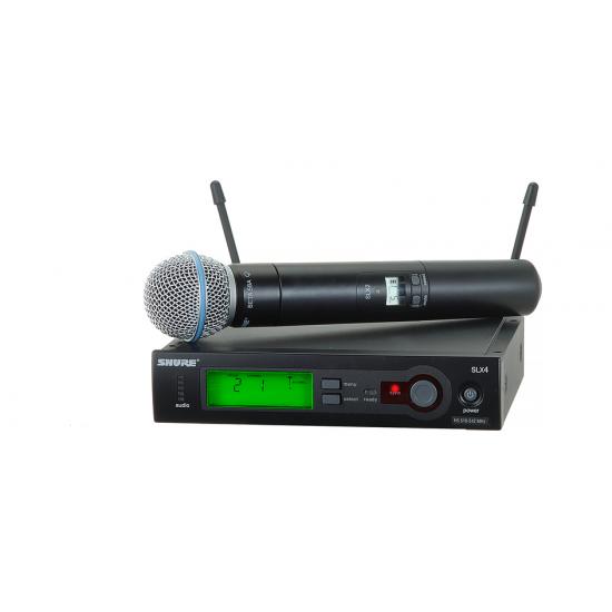 Shure SLX24/BETA58 Handheld Wireless System