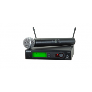 Shure SLX24/SM58 Handheld Wireless System
