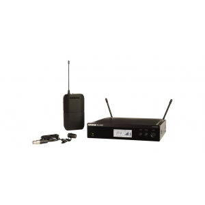 Shure BLX14R/W85 Lavalier Wireless System with WL185 Lavalier Microphone