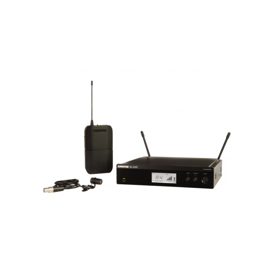 Shure BLX14/W85 Lavalier Wireless System with WL185 Lavalier Microphone