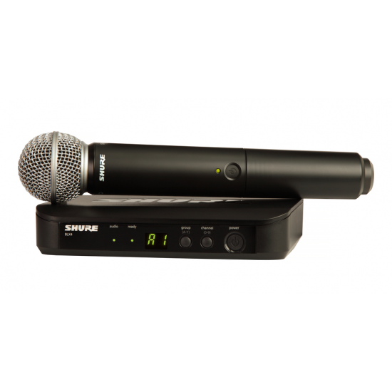 Shure BLX24/SM58 Wireless Vocal System
