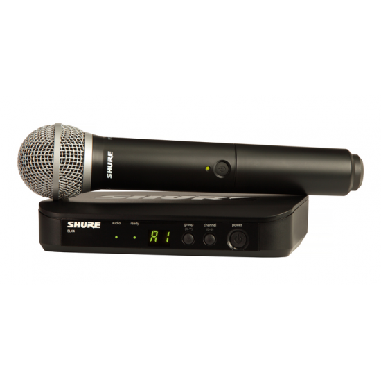 Shure BLX24R/PG58 Wireless Vocal System