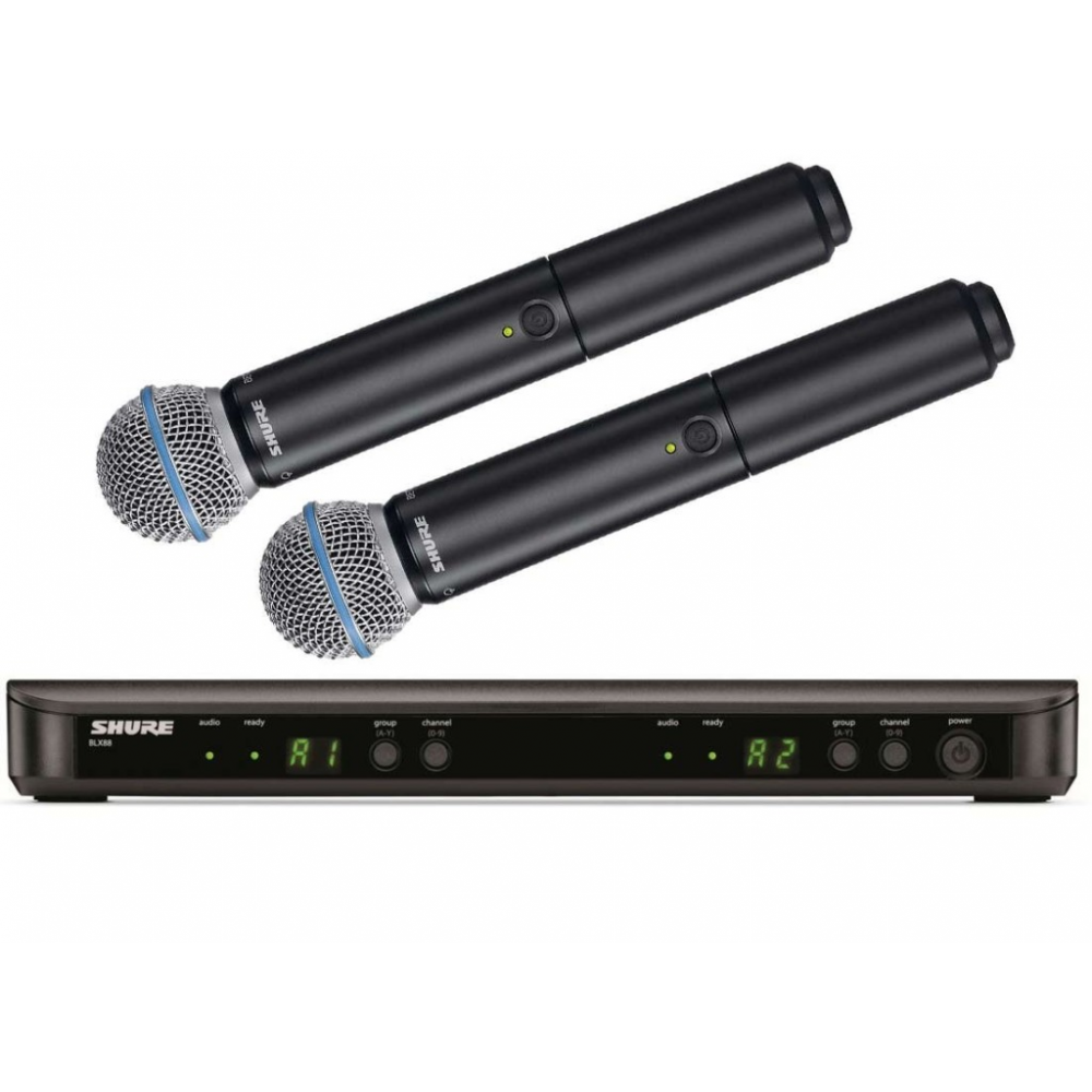 Shure BLX288/B58 Dual Wireless Vocal System