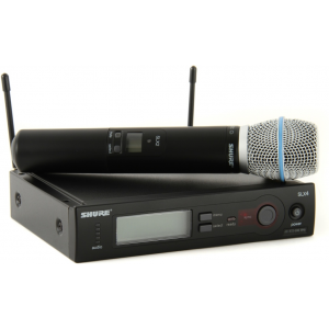Shure SLX24/Beta87C Handheld Wireless System