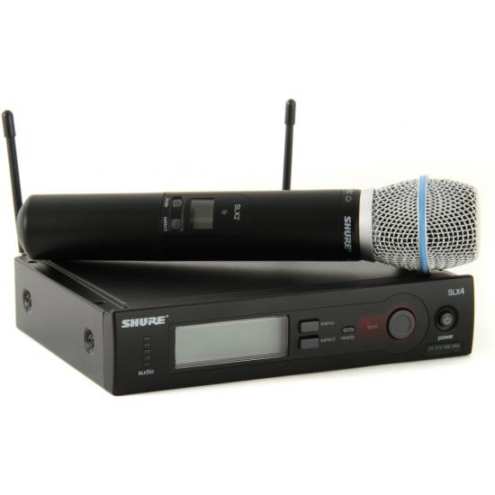 Shure SLX24/Beta87C Handheld Wireless System