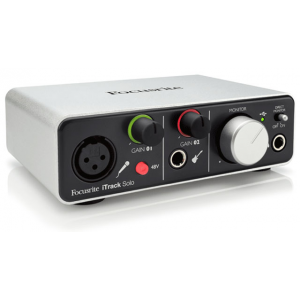 Focusrite iTrack Solo USB Audio Interface