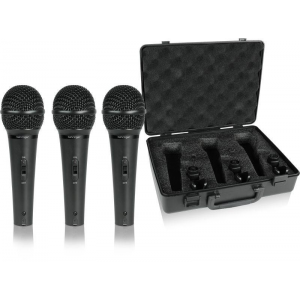 Behringer ULTRAVOICE XM1800S Pack of 3