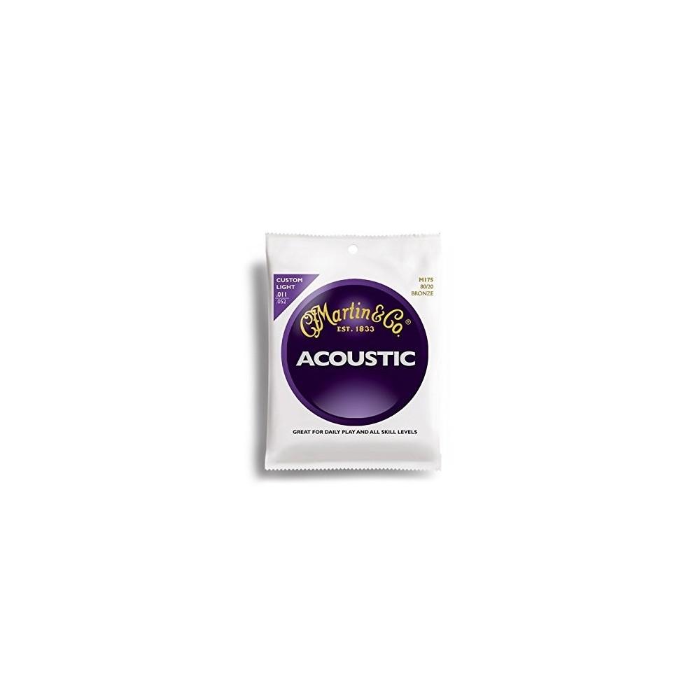 Martin & CO M175-80/120 Bronze Acoustic Guitar Strings