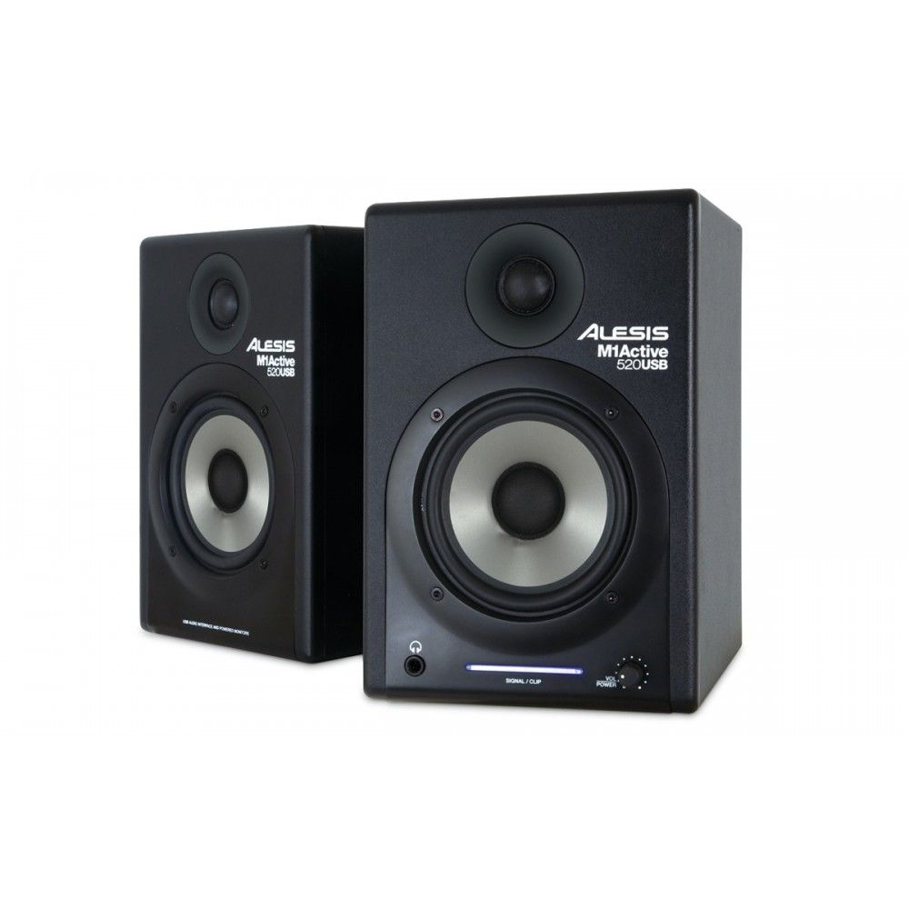 Alesis M1 Active 520 Powered Studio Monitors - Pair