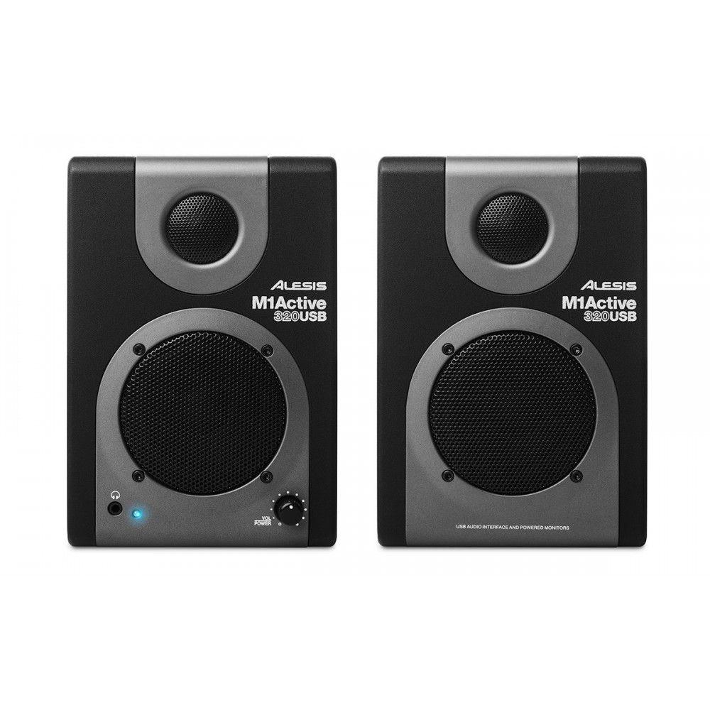 Alesis M1 Active 320 Powered Studio Monitors - Pair