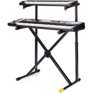 Hercules KS210B Double Keyboard Stand