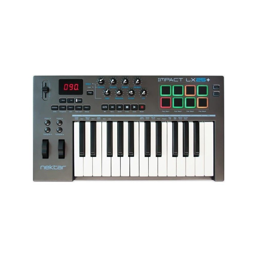 Nektar Impact LX-25+ USB Midi Controller Keyboard
