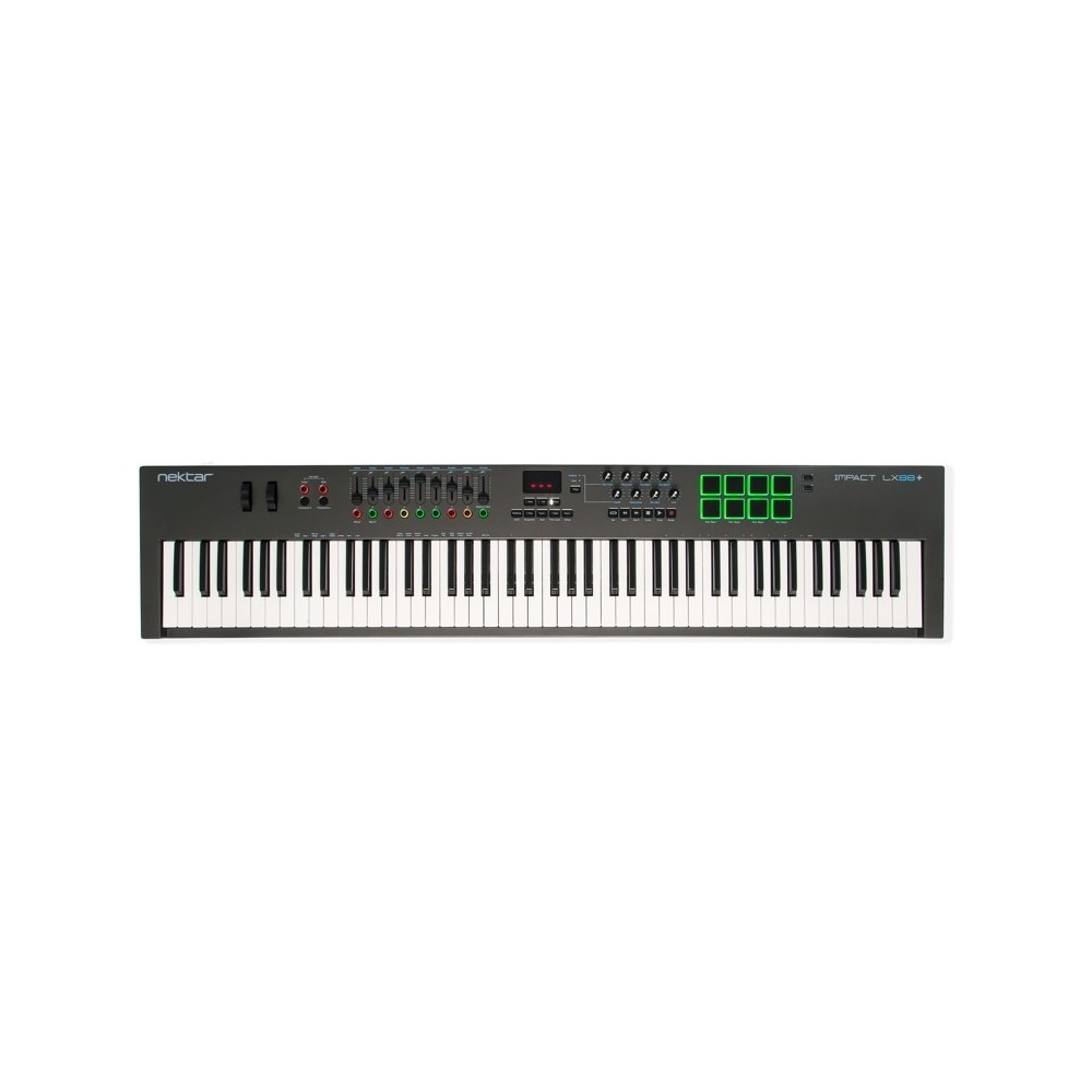 Nektar Impact LX-88+ USB Midi Controller Keyboard