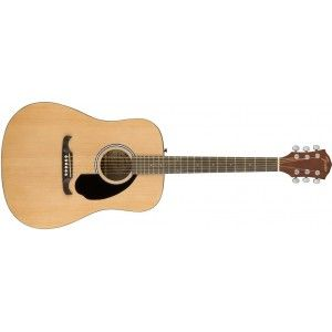 Fender FA125 Acoustic Guitar- Natural