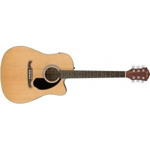 Fender FA125CE Semi Acoustic Guitar- Natural