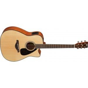 Yamaha FGX800C Semi Acoustic Guitar