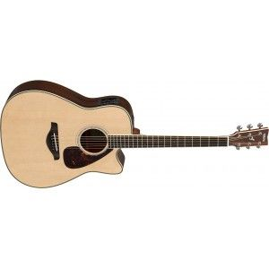 Yamaha FGX830C Semi Acoustic Guitar