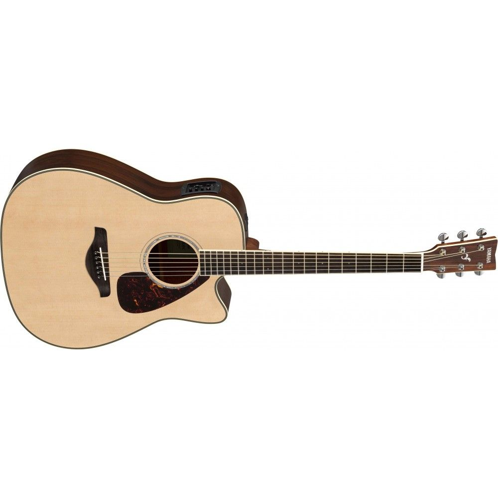 Yamaha FGX830C Semi Acoustic Guitar
