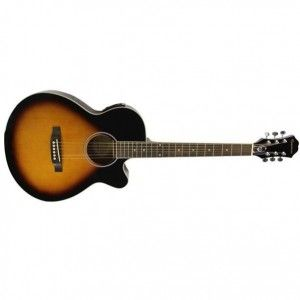 Epiphone PR-4E Semi Acoustic Guitar- LTD Vintage Sunburst