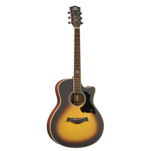 Kepma A1C Acoustic Guitar Matt - Sunburst