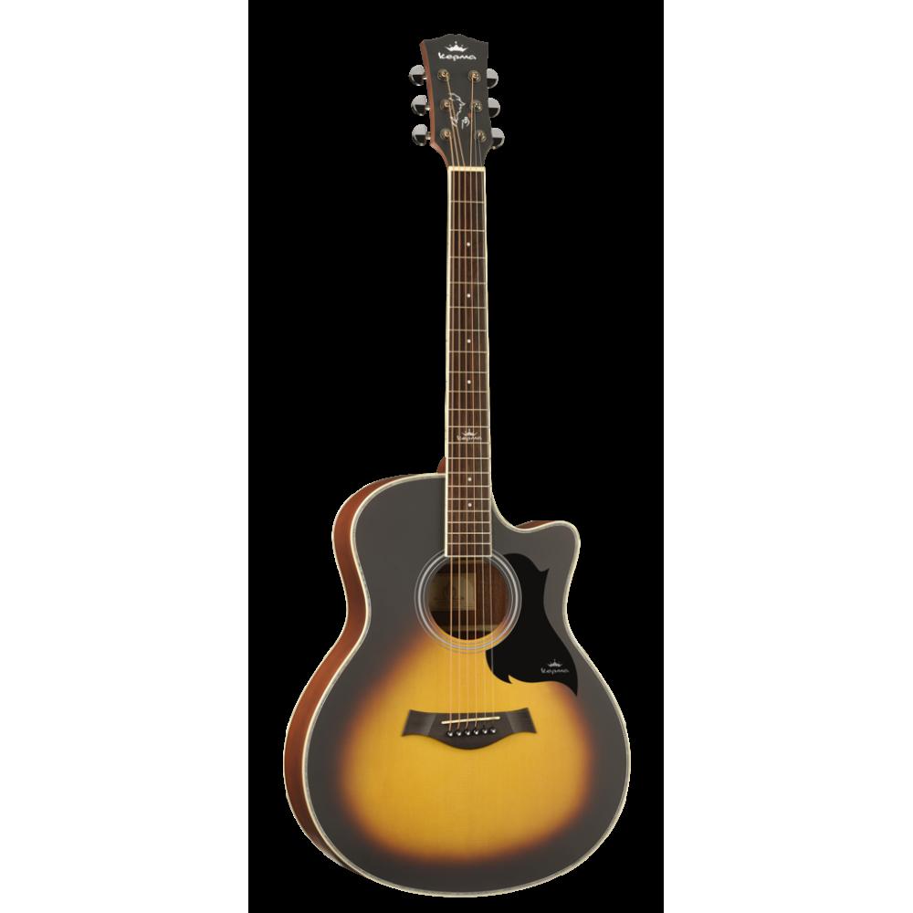 Kepma A1C Acoustic Guitar - Matte