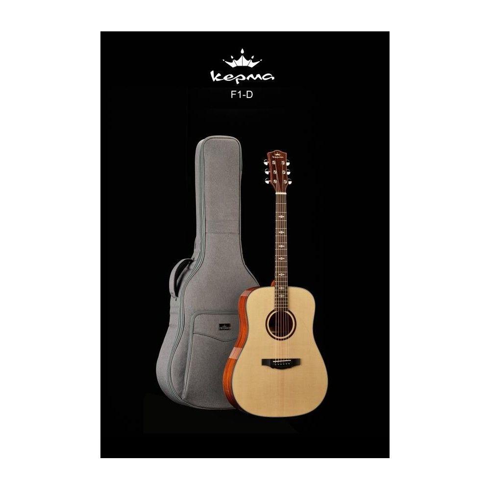 Kepma F1E-D Transacoustic Guitar