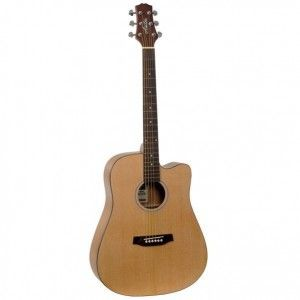 Ashton D20C Acoustic Guitar - Natural