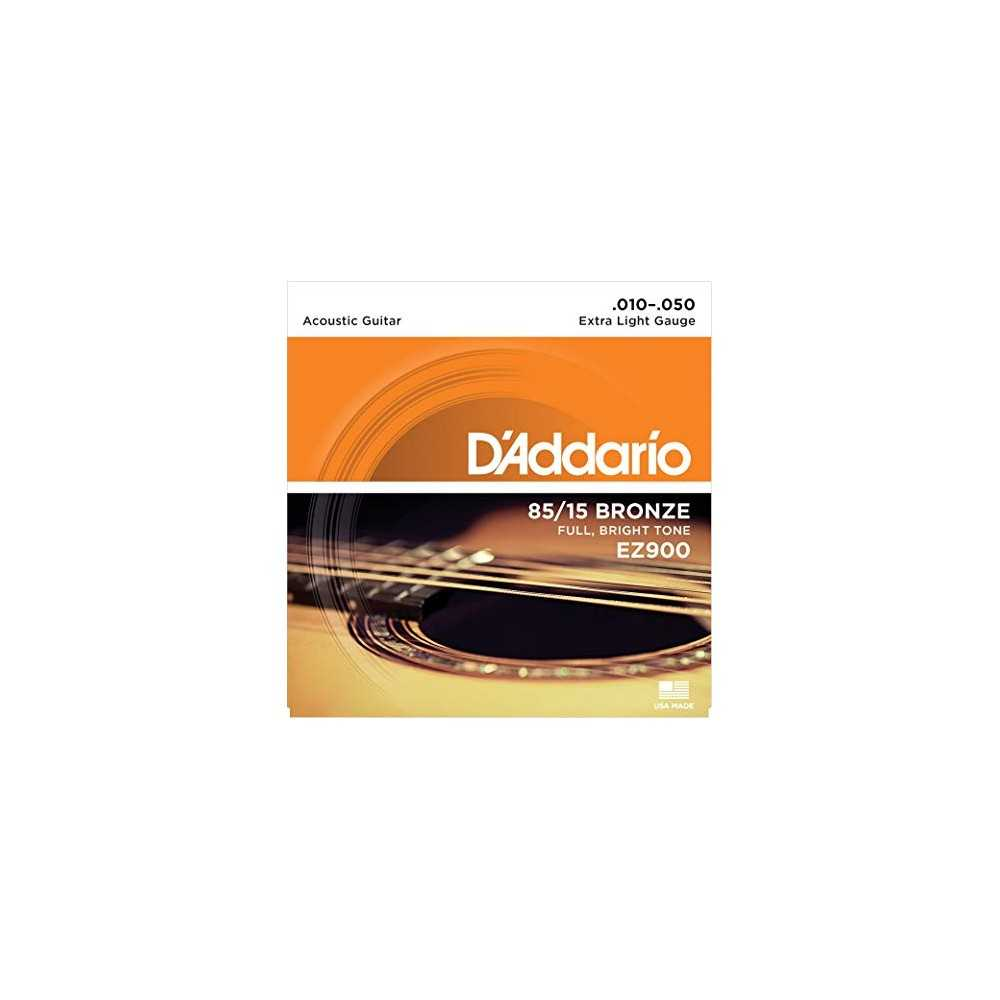 D'Addario EZ900 Acoustic Guitar Strings