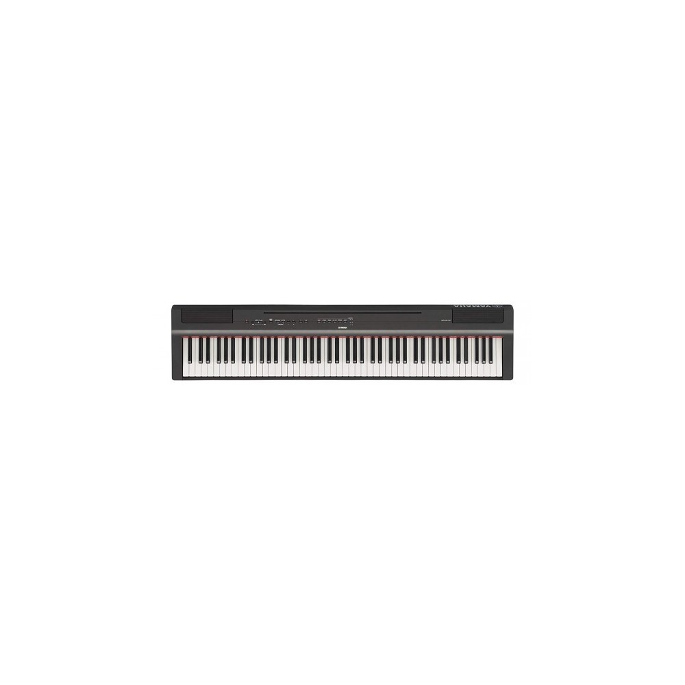 Yamaha P-125B 88-Keys Digital Piano Includes L125 Stand and LP1B Stustain Pedal