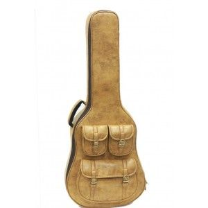 Revolt Special Deluxe Acoustic Guitar Bag - Yellow