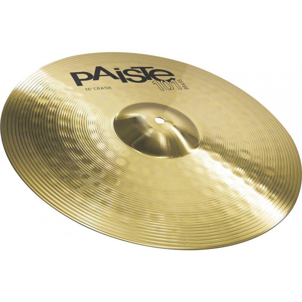 Paiste 101-16 Inch Brass Crash Cymbal