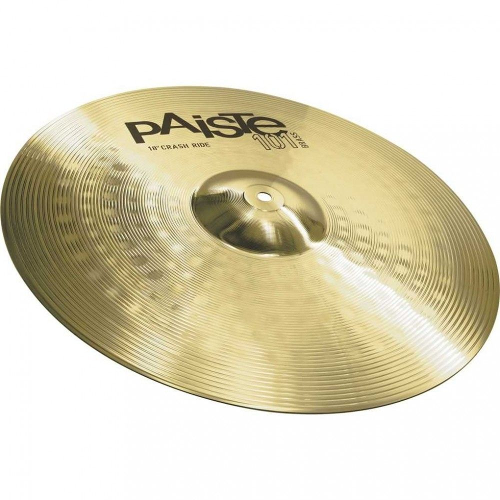 Paiste 101- 18Inch Brass Crash Ride Cymbal
